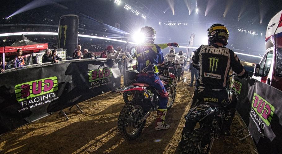 FMX at the 2017 Paris Supercross