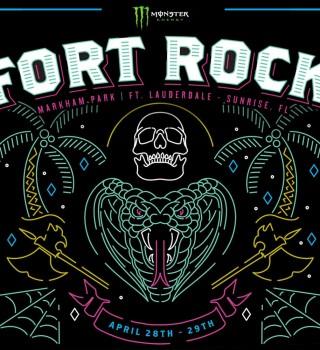 Fort Rock Festival 2018 artwork