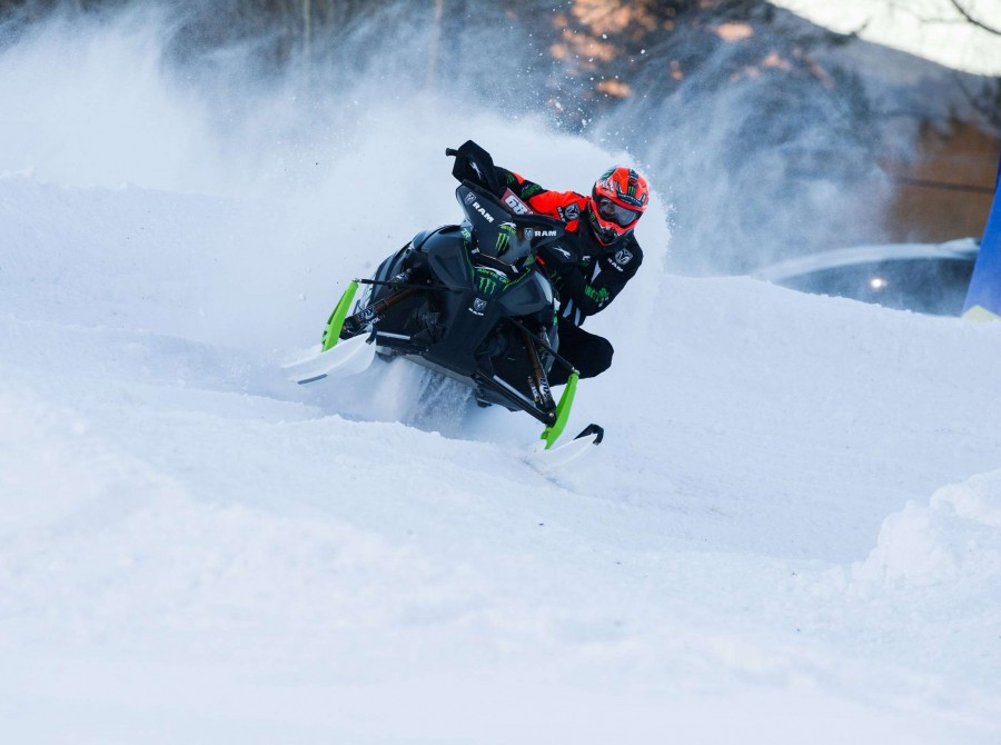 Tucker Hibbert images at Jackson Hole Snocross stop