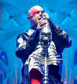 Five Finger Death Punch playing AFAS Live in Amsterdam on December 15, 2017