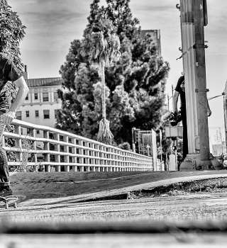 "Matt Berger in the streets of LA for ""Ritual de lo habitual: Matt Berger"""