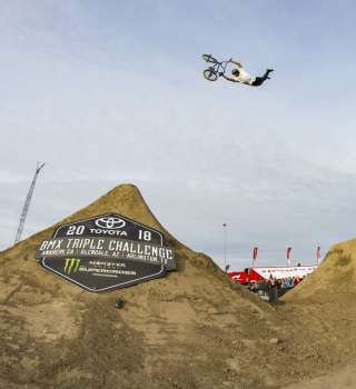 Action shots from the first stop of the Toyota Triple Challenge contest