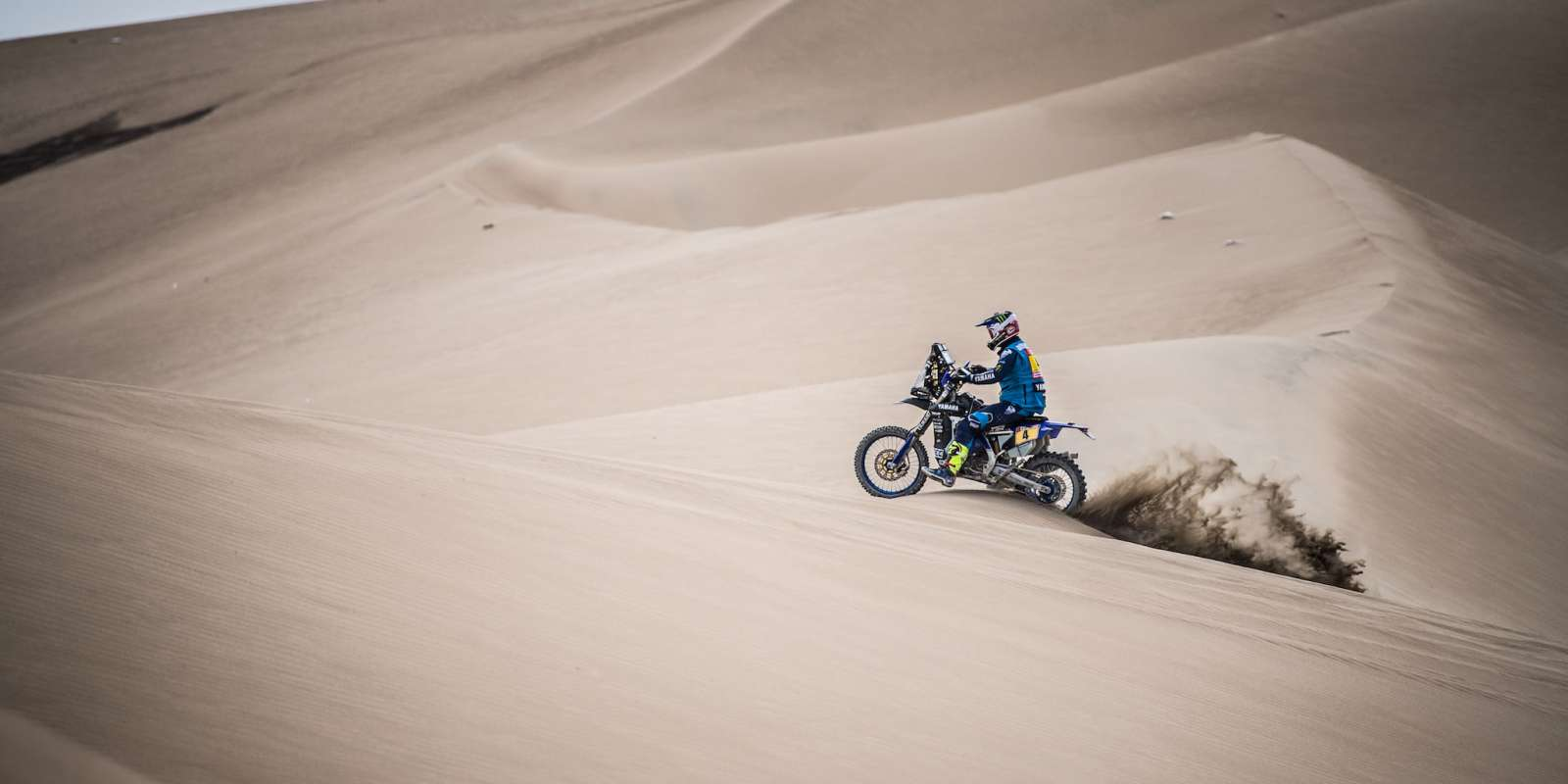 Adrien van Beveren at the 2018 Dakar