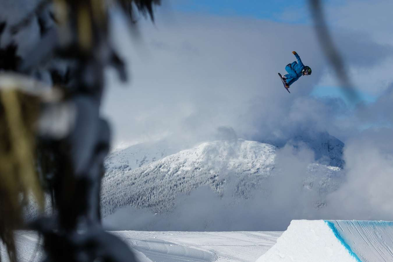 Olympic Training at Whistler Terrain Park, BC. Snowboarding, Slopestyle, whistler blackcomb, Jamie Anderson