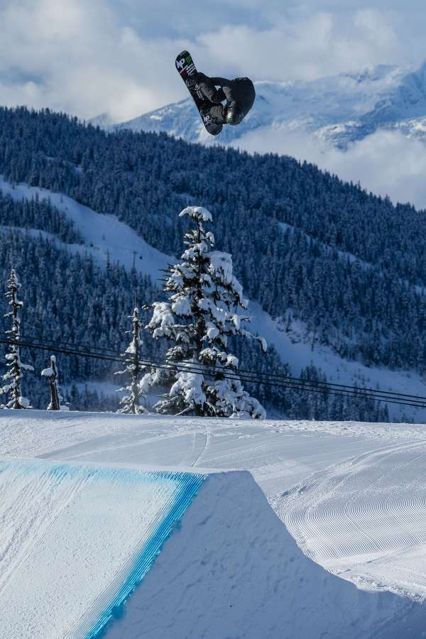 Olympic Training at Whistler Terrain Park, BC. Max Parrot, Snowboarding, Slopestyle, whistler blackcomb