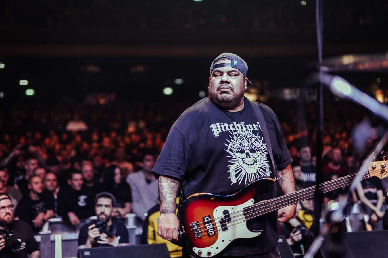 Madball performing live on Persistence Tour 2018 in London, UK