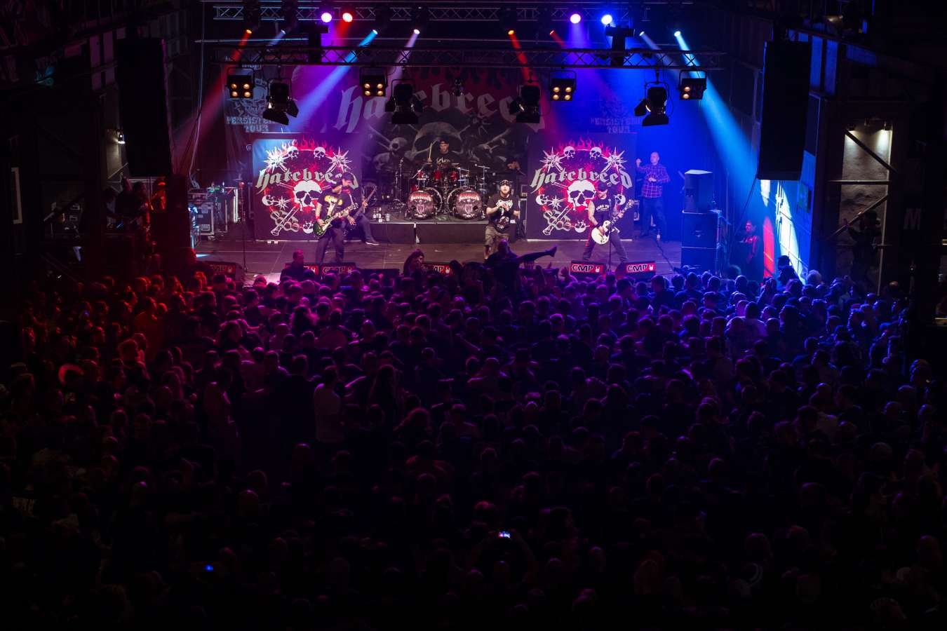 Jamey Jasta live images with Hatebreed