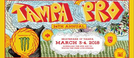 2018 Web Tampa Pro Event Graphics