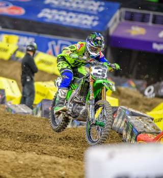 Images from the 2018 Supercross event in Minneapolis, MN