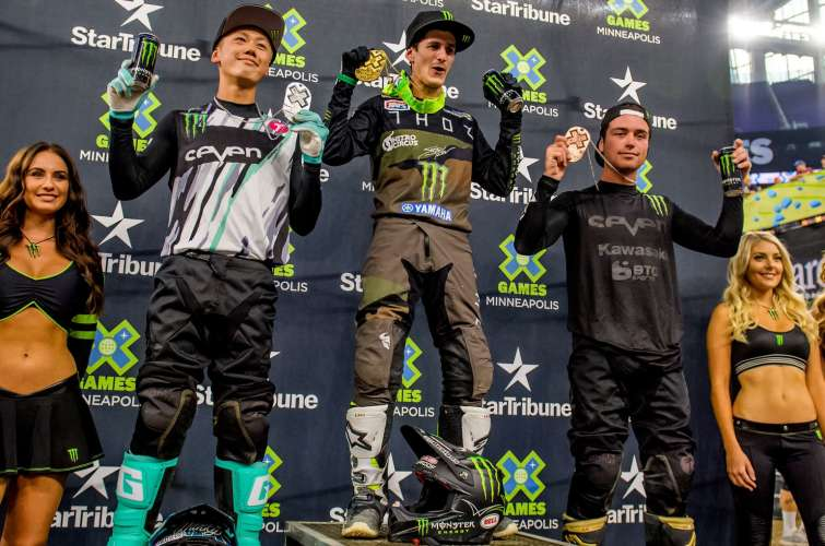 Moto X Best Whip podium image