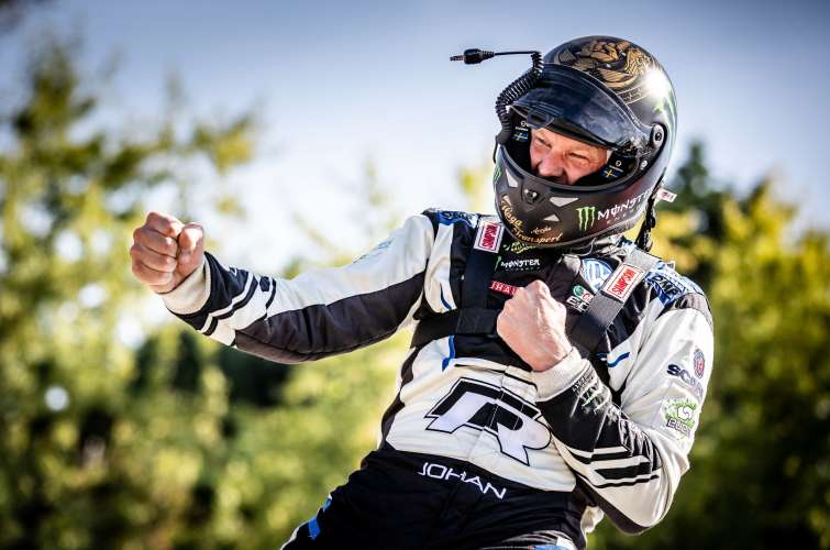 Sunday images from the 2018 World RX of France