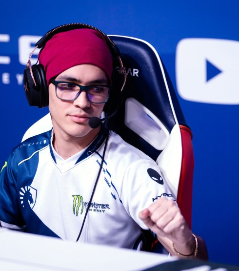 Photos of Team Liquid CSGO in Birmingham, England at Wembly Arena for the ECS Season 5 Finals