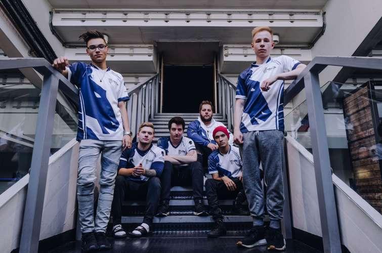 Photos of Team Liquid CSGO in Birmingham, England at Wembly Arena for the ECS Season 5 Finals