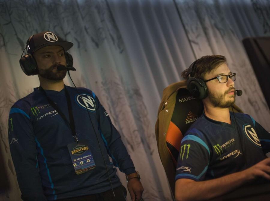Photos of Team EnVyUs CSGO at Dreamhack Masters in Malmo, Sweden