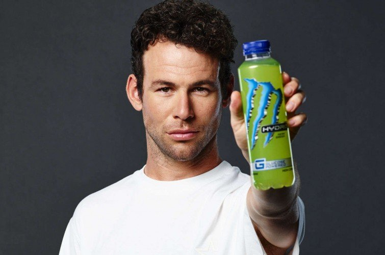 Hydro promo shoot with Mark Cavendish.