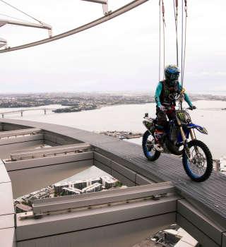 Taka Higashino Photos Sky Tower Stunt NZ