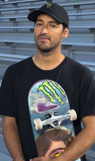 Images of Kelvin Hoefler skateboarding in Temecula, California