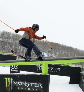 Shots from X Games in Aspen Colorado