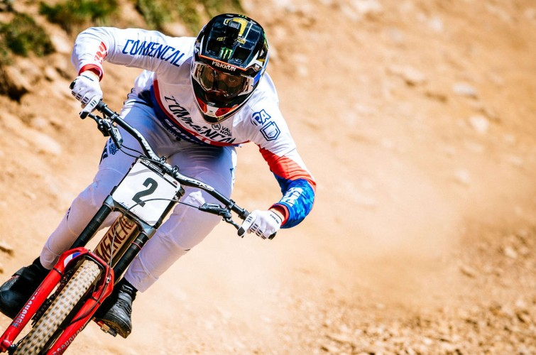 Monster athletes compete in the 2018 UCI World Cup 2018 Lenzerheide, Switzerland
