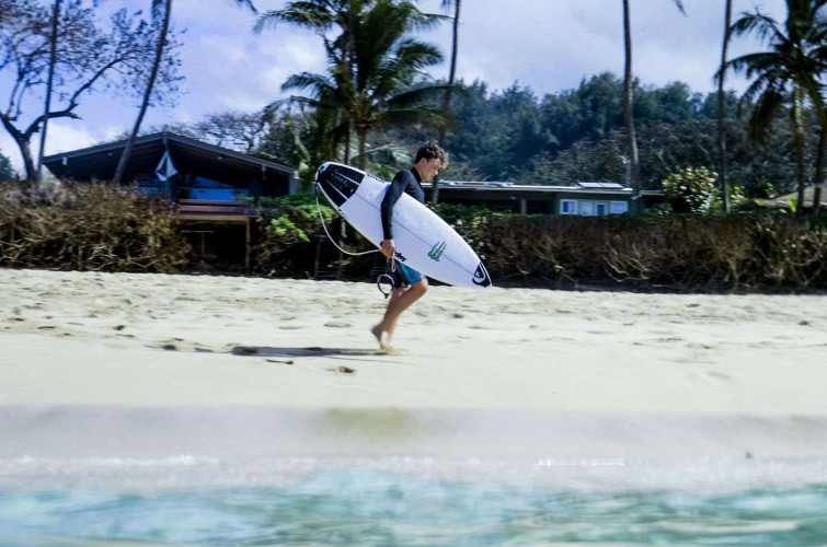 Photo of Stanley Norman in Hawaii