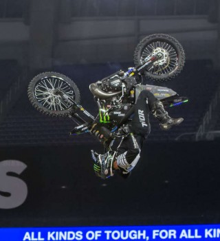 Images from the 2019 X Games FMX Contest in Minneapolis, Minnesota