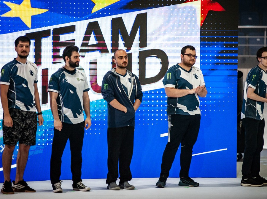 Photos of Team Liquid playing at the Epicenter Major in Moscow, Russia. The team placed second after a recent roster move.