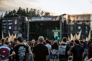 Images from Cieszanow Rock Festival in Poland.