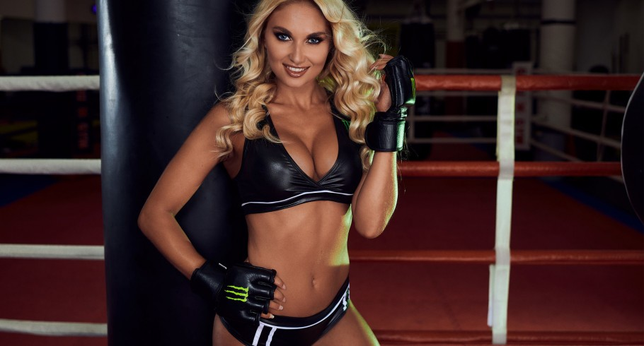 Monster Girls MMA photoshoot