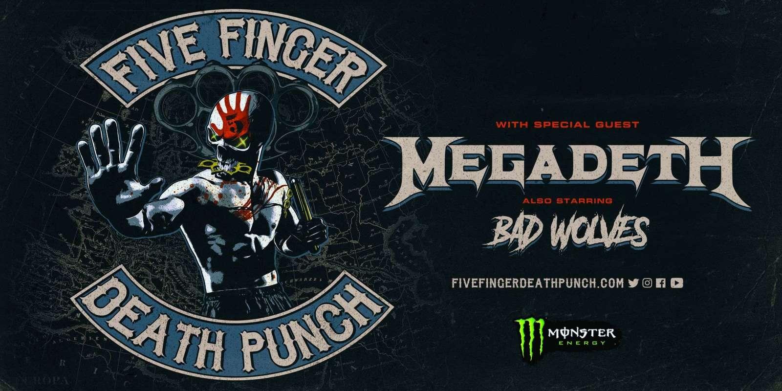 five finger death punch tour dates 2020