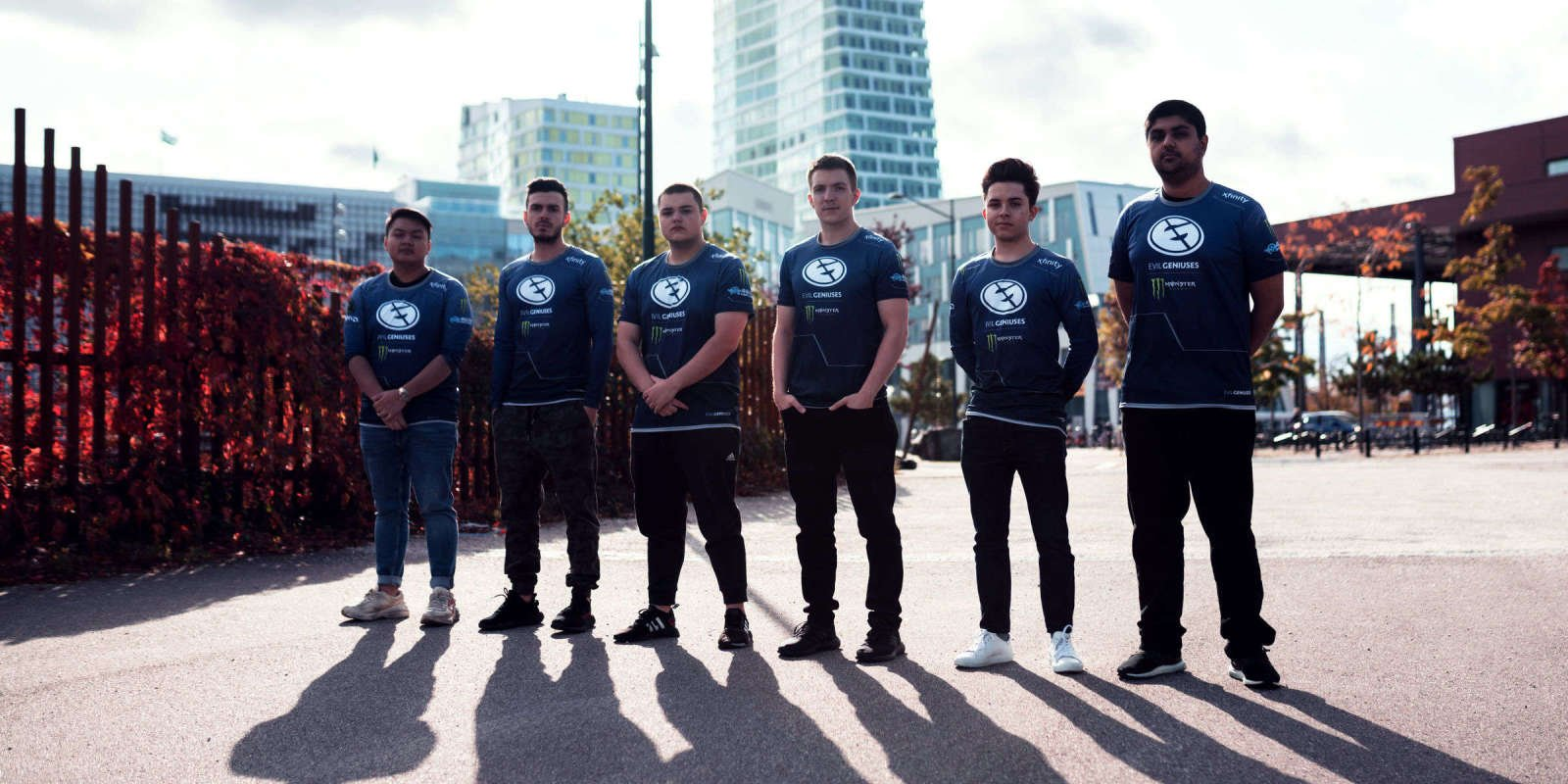 Photos of Evil Geniuses' CSGO team