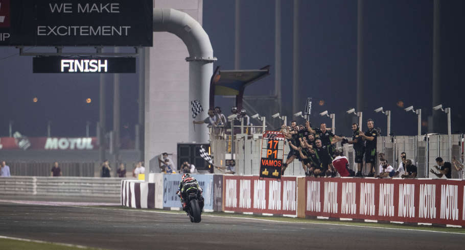 Jonathan Rea at the 2019 WorldSBK Qatar round