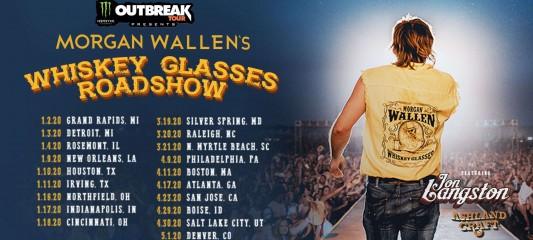 Monster Energy Outbreak Tour: Morgan Wallen assets