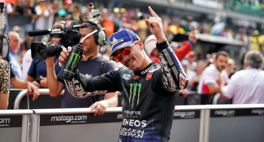 Maverick Viñales at the 2019 Grand Prix of the Malaysia