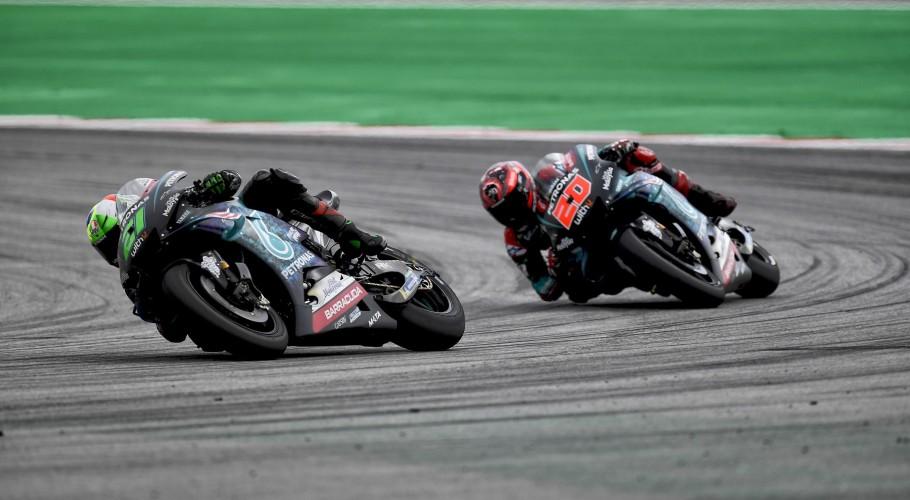 Fabio Quartararo and Franco Morbidelli at the 2019 Grand Prix of the Malaysia