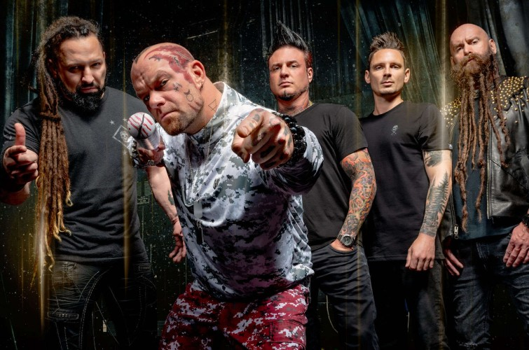 Five Finger Death Punch 2:1 hero asset