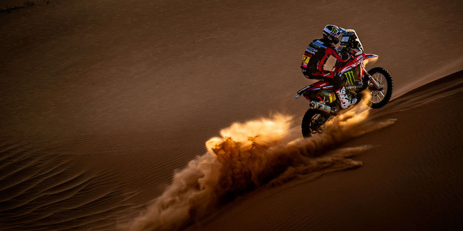 Cornejo during Dakar Rally