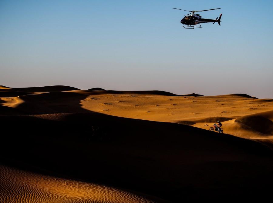 Brabec during Dakar Rally