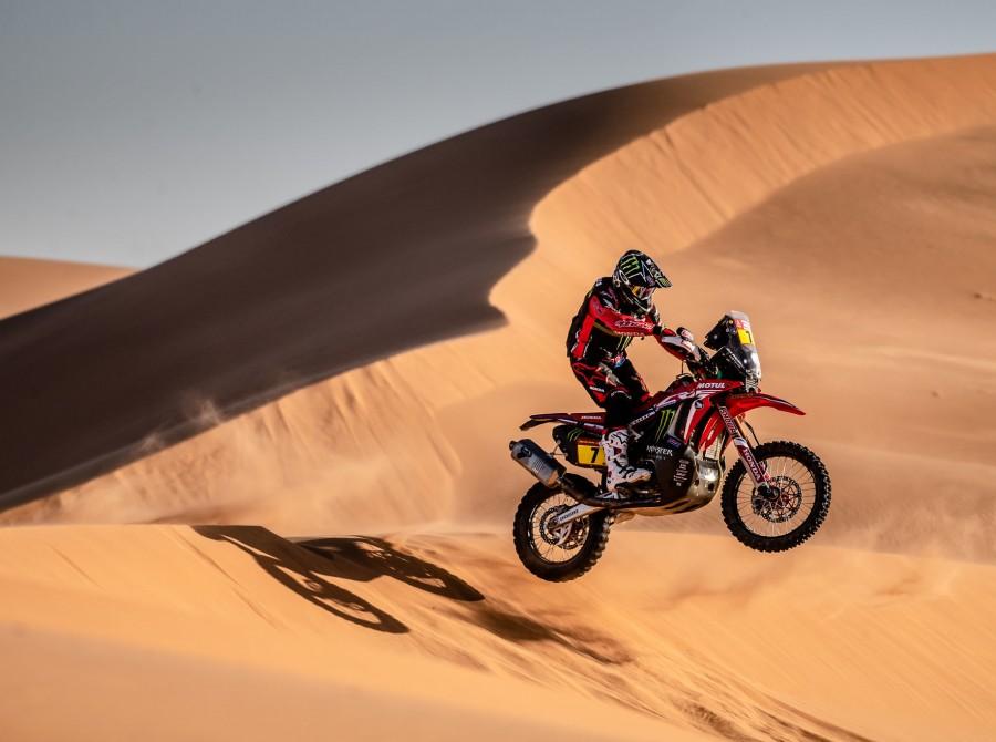Benavides during Dakar Rally