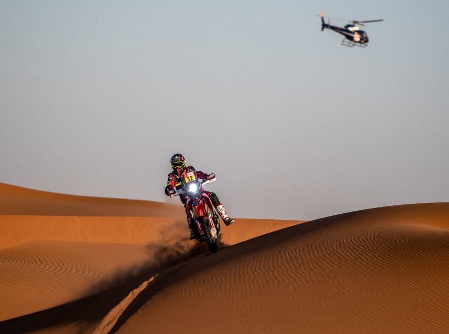 Barreda during Dakar Rally