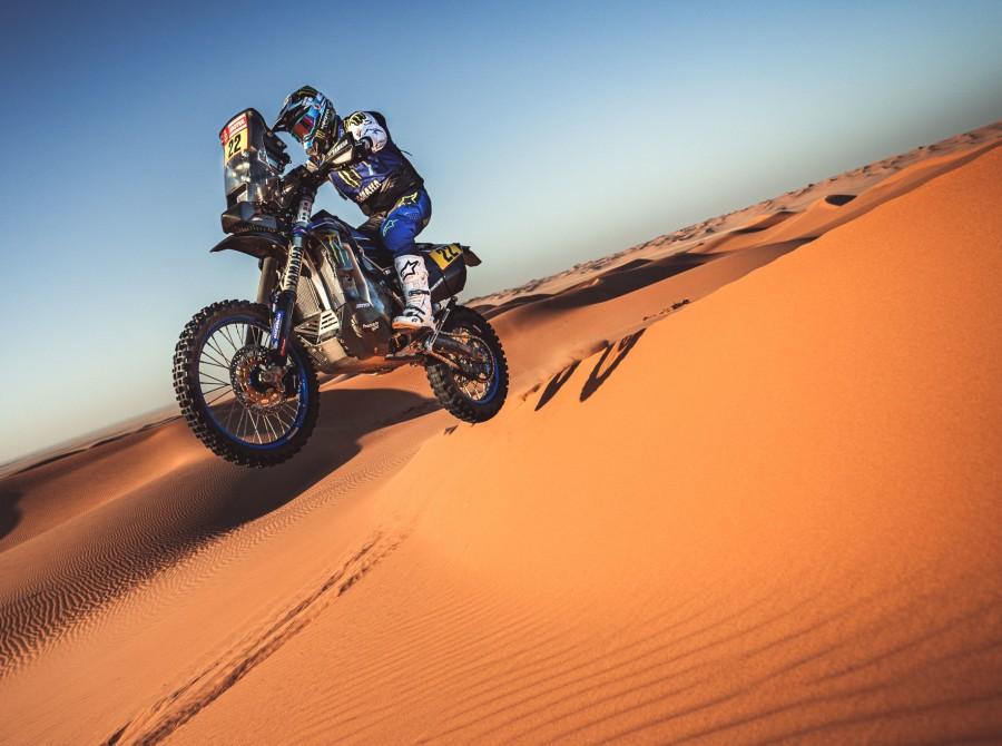 Caimi during Dakar Rally