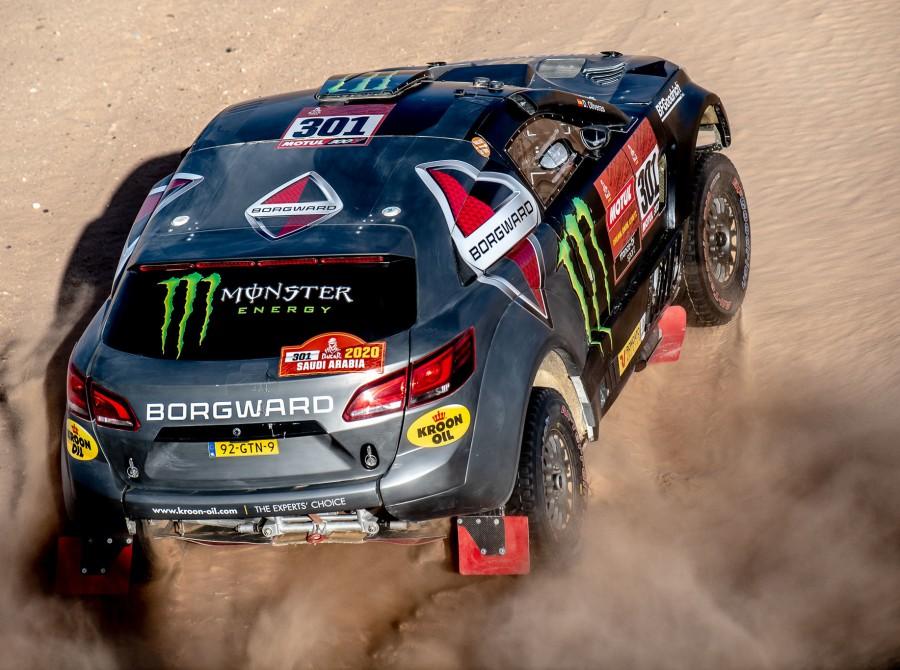 Roma during Dakar Rally