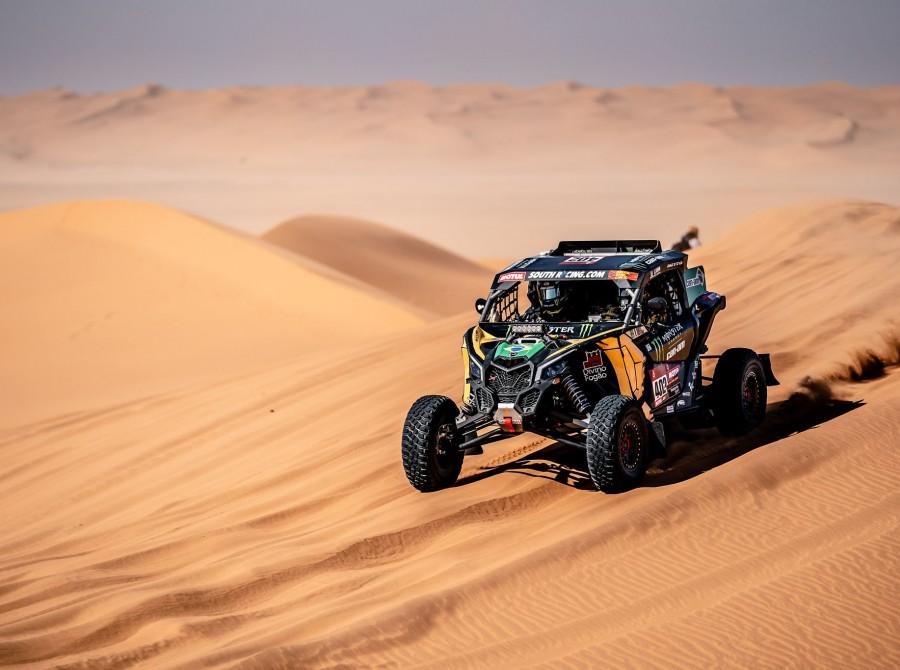 Varela during Dakar Rally