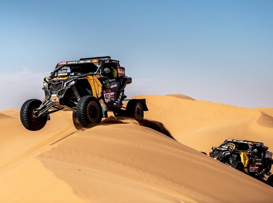 Farres during Dakar Rally