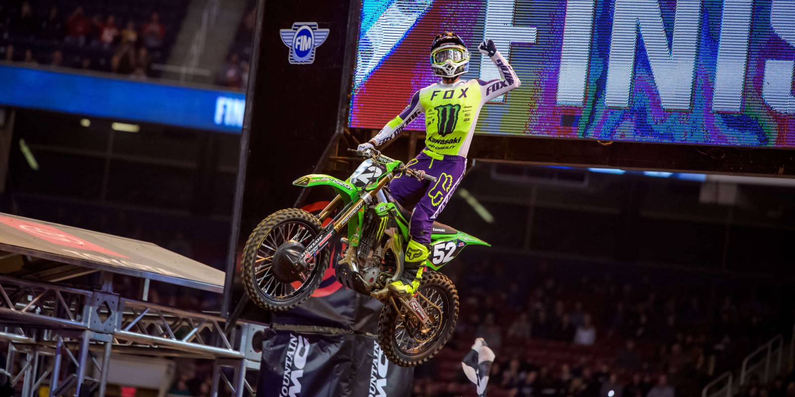 Images from 2020 Supercross in St. Louis, MO