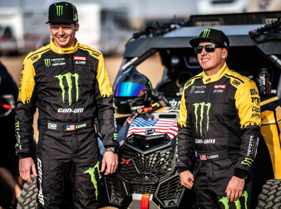 Casey Currie at the 2020 Rally Dakar in