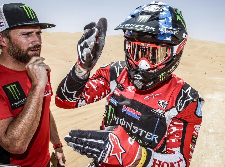 Ricky Brabec at FIM Rally in Abu Dhabi, UAE