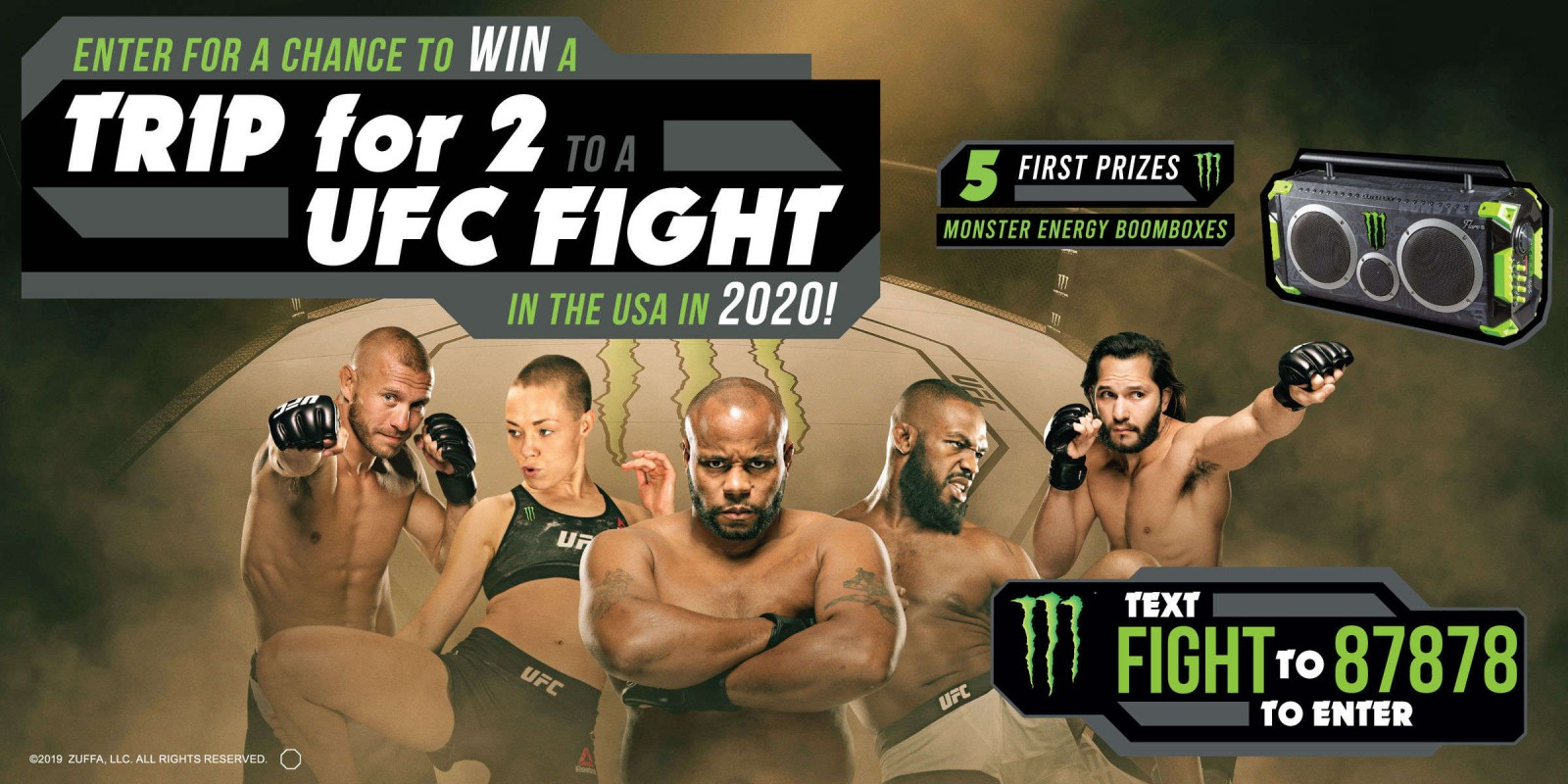 **PLease approve ASAP** . Web hero for current promotion.  UFC Trip Canada Giveaway Hero