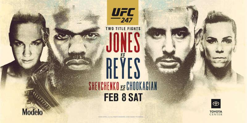 UFC 247: Jones vs Reyes